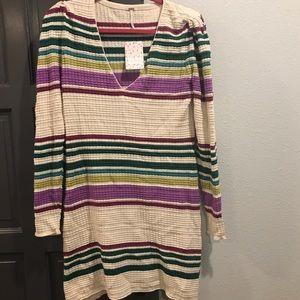 Free People Sweater Dress NWT